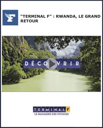 Terminal F - emission live Figaro Magazine Rwanda